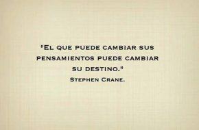 El que puede Cambiar sus pensamientos puede Cambiar su Destino