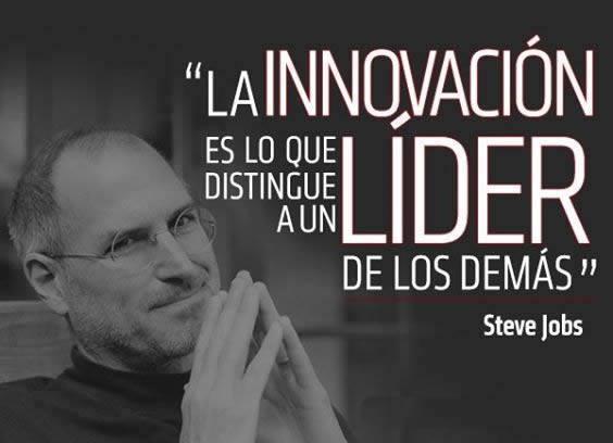 La innovación es lo que destingue a un lider
