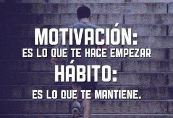Motivación es lo que te hace Empezar