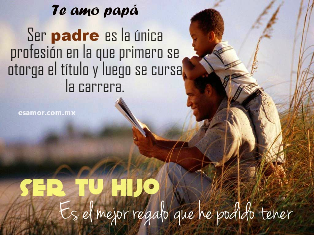 Postales del dia del Padre para Reflexionar
