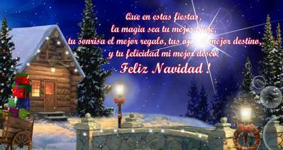 Tarjetas animadas de navidad frases de motivaci n - Postales de navidad con fotos de ninos ...