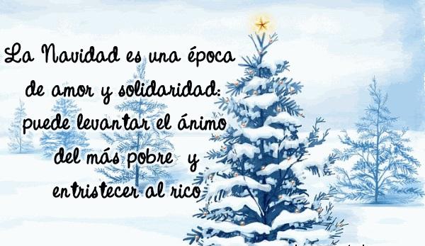 Imágenes con Frases de Navidad para felicitar